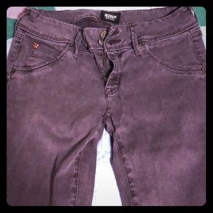 Light purple jeans
